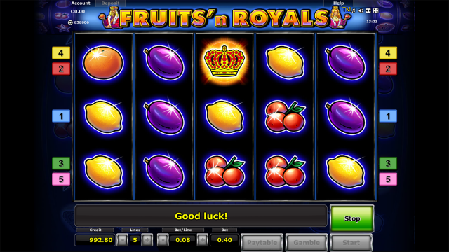 Fruits and Royals 1