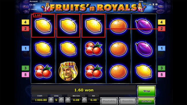 Fruits and Royals 5