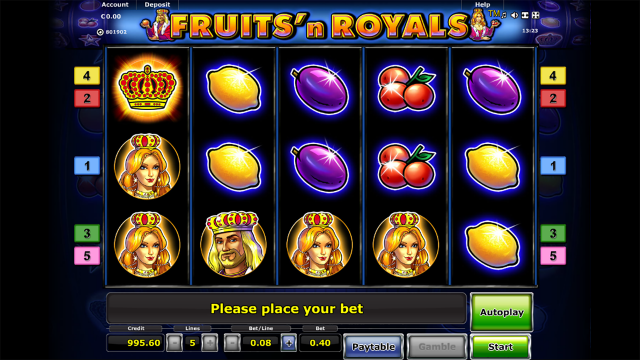 Fruits and Royals 4