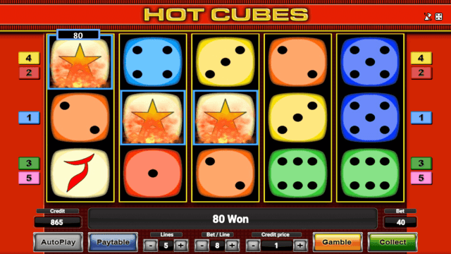 Always Hot Cubes 10